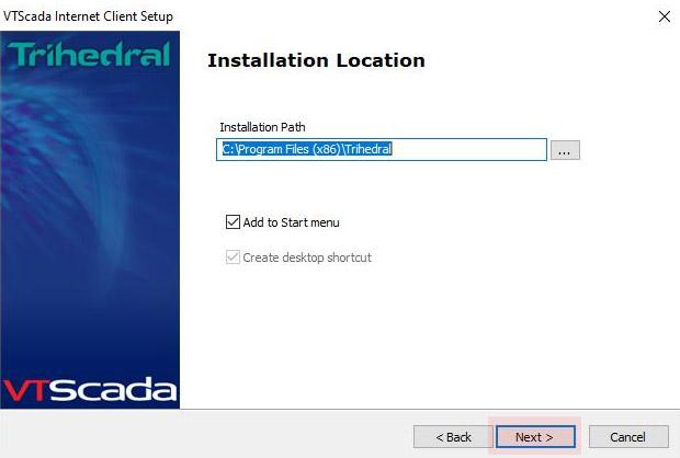 MetroCloud Software Update Installation Location