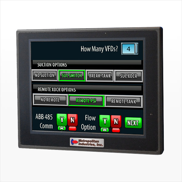 MetroCloud MetroTech3 Pro Booster Pump Control for Municipalities