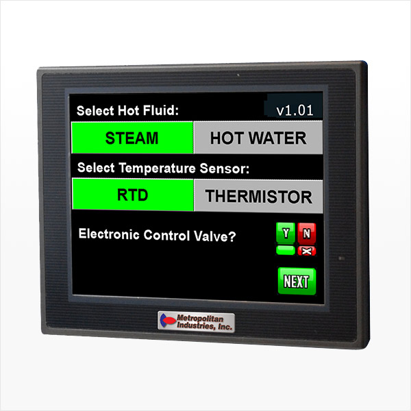 MetroCloud ThermoTech Hot Water and Steam Temperature SCADA Controller