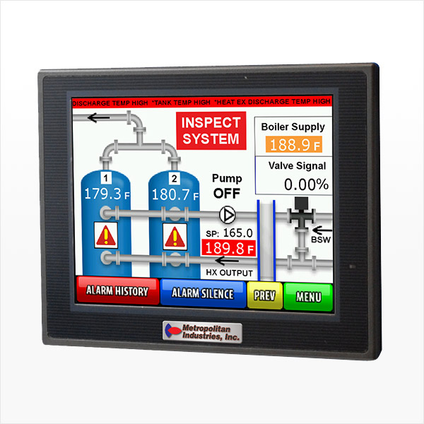 MetroCloud ThermoTech SCADA Controller Showing High Tank Lockout