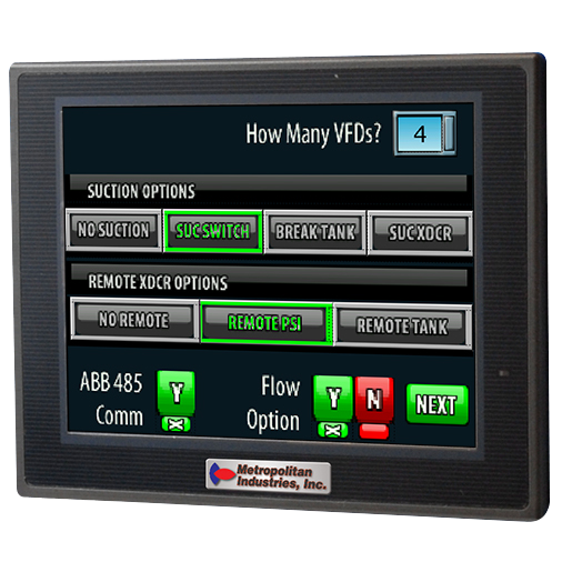 Cloud SCADA Ready Booster Pump Controller for Commercial Buildings